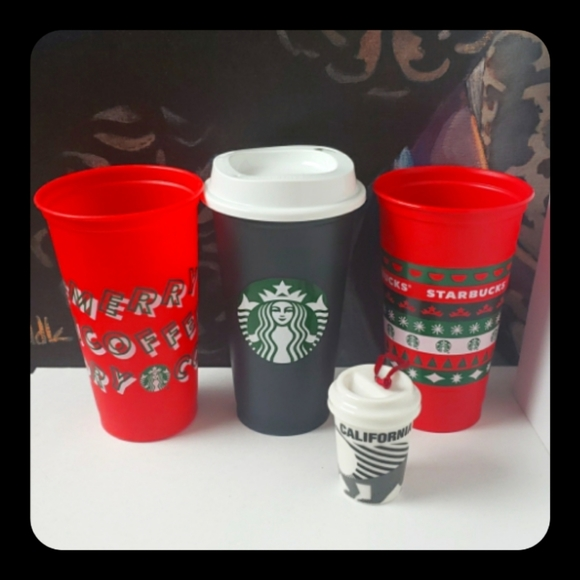 Starbucks cups/ ornament